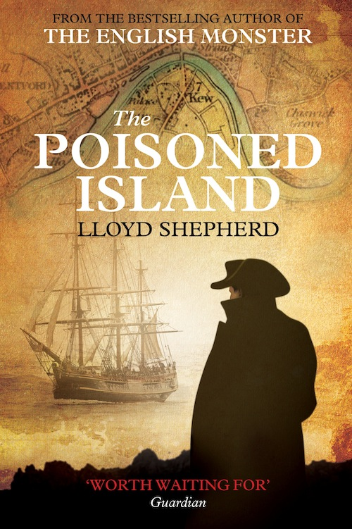 Poisoned Island Hardback Front small